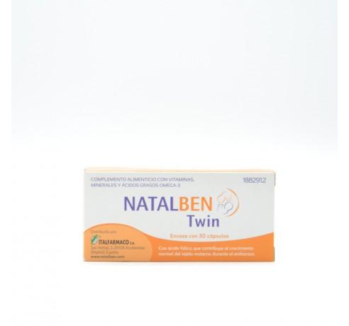 NATALBEN TWIN 30 CAPSULAS Parafarmacia