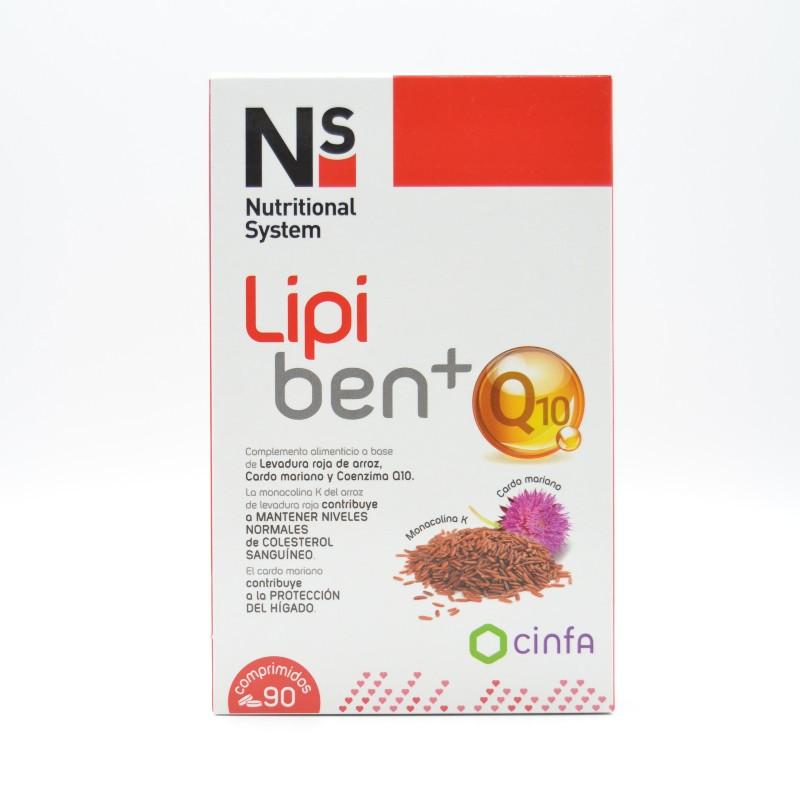 NS LIPIBEN+ Q10 90 COMPRIMIDOS Parafarmacia
