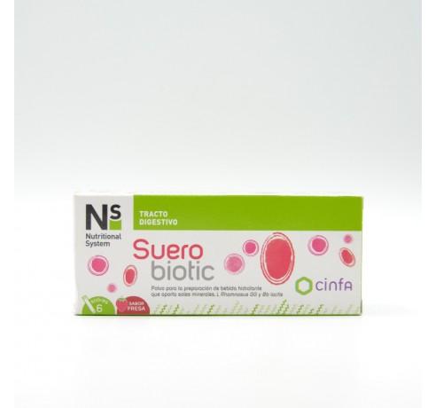 NS SUEROBIOTIC 6 SOBRES FRESA Parafarmacia