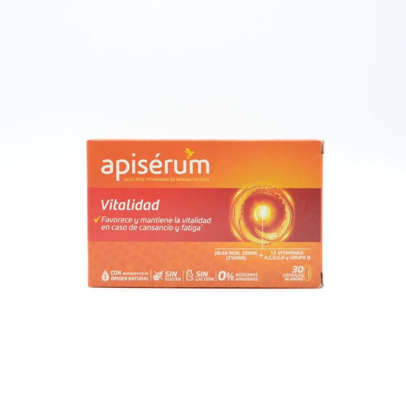 APISERUM VITALIDAD 30 CAPSULAS BLANDAS Parafarmacia