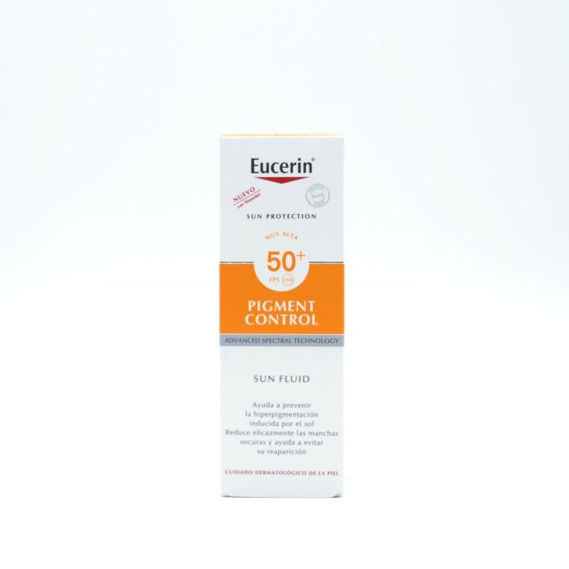 EUCERIN SOLAR ROSTRO PIGMENT CONTROL 50+ 50 ML Parafarmacia