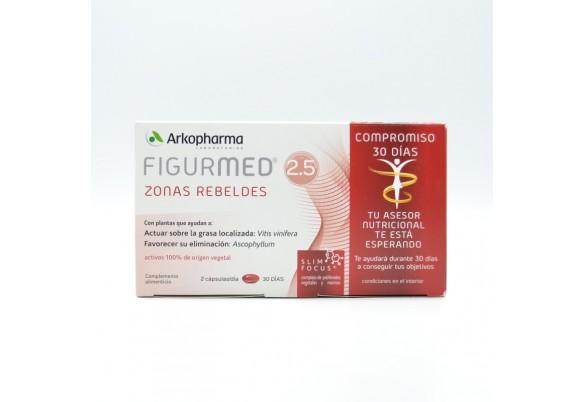 FIGURMED ZONAS REBELDES 60 CAP Parafarmacia