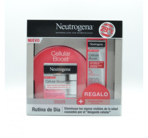 NG CELLULAR BOOST CREMA DE DIA ANTI-EDAD 50 ML + CONTORNO REGALO Parafarmacia