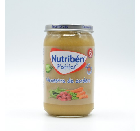 NB POTITO G MENESTRA DE CORDERO 235 G Parafarmacia