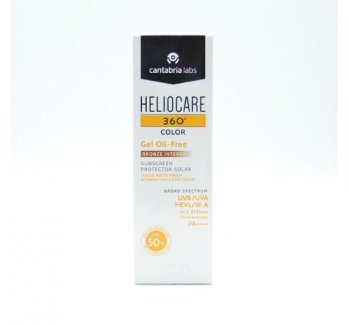 HELIOCARE 360º SPF 50+ COLOR BRONZE INTENSE GEL OIL-FREE Parafarmacia