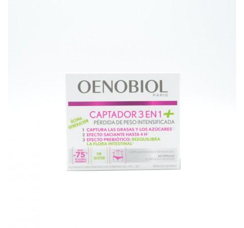 OENOBIOL CAPTADOR 3EN1 PLUS +REGALO OENOBIOL AUT Parafarmacia
