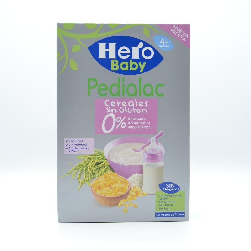 PEDIALAC PAPILLA 0% CEREALES SIN GLUTEN HERO BAB Parafarmacia