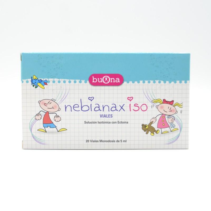NEBIANAX ISO 20 VIALES Parafarmacia