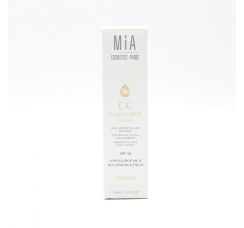 MIA CC COLOURED CREAM MEDIUM 30 ML Parafarmacia