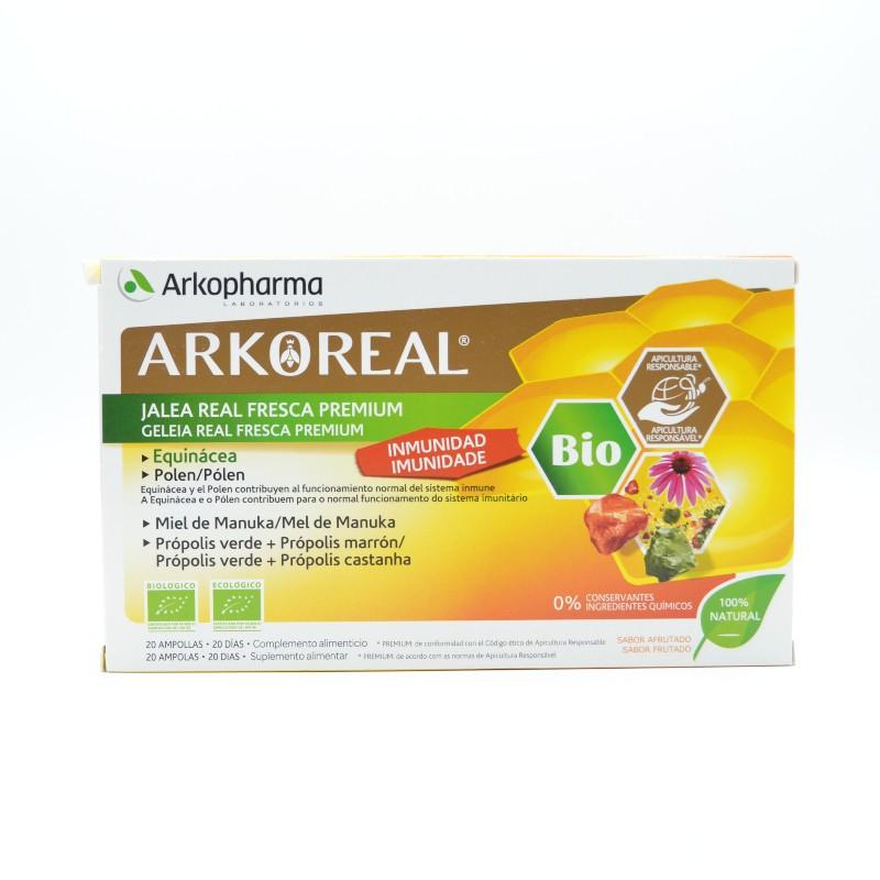 ARKOREAL JALEA INMUNIDAD BIO 20 AMPOLLAS Parafarmacia