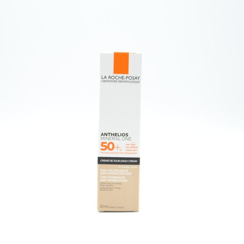 ANTHELIOS MINERAL ONE 50+ CREMA CLAIRE 30 ML Parafarmacia