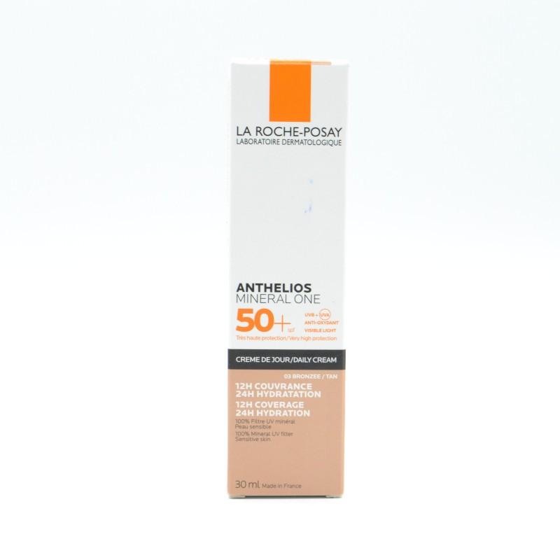 ANTHELIOS MINERAL ONE 50+ CREMA BRONZEE 30 ML Parafarmacia