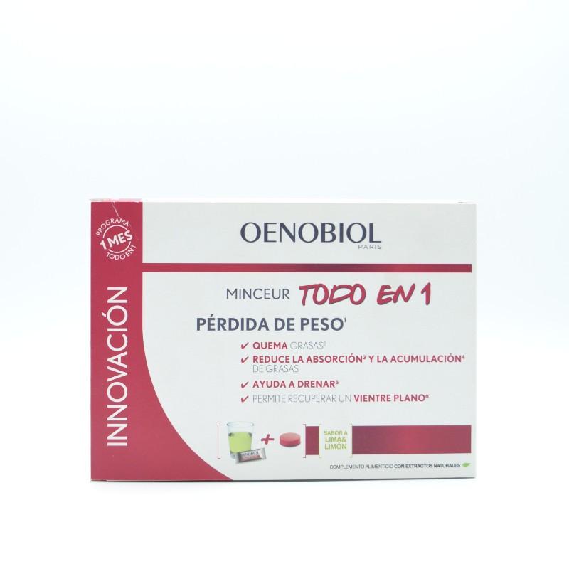 OENOBIOL MINCEUR TODO EN 1 30 STICKS + 60 COMPRI Parafarmacia