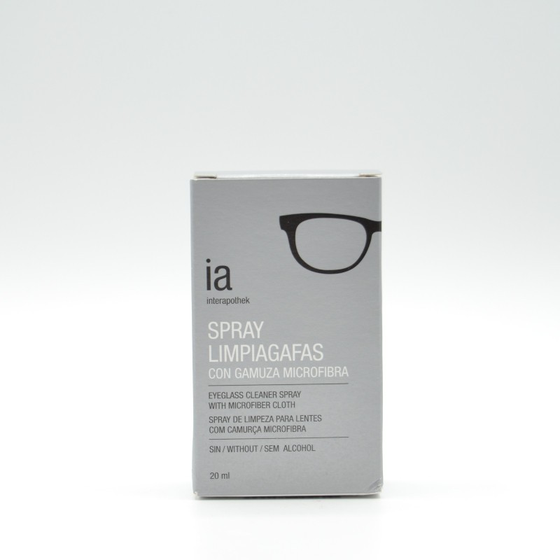 INTERAPOTHEK LIMPIAGAFAS 20 ML SPRY+GAMU Parafarmacia