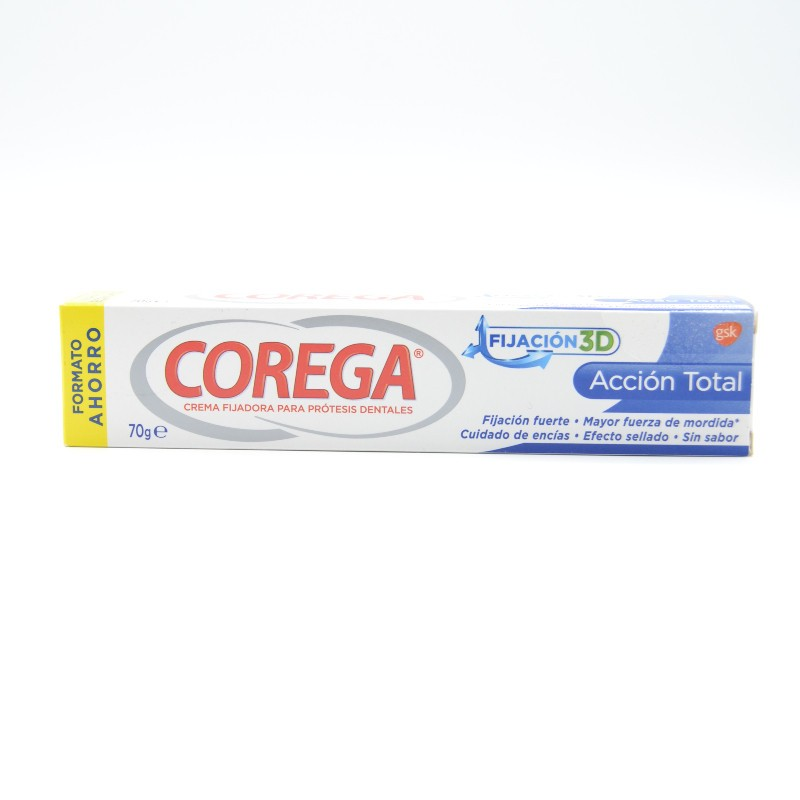 COREGA ACCION TOTAL CREMA FIJADORA 70 GR Parafarmacia