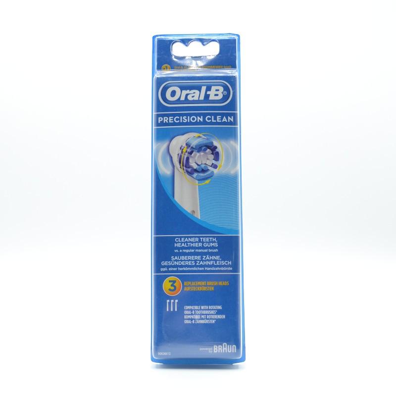 ORAL-B RECAMBIO C.E.PRECISION CLEAN 3 U Parafarmacia