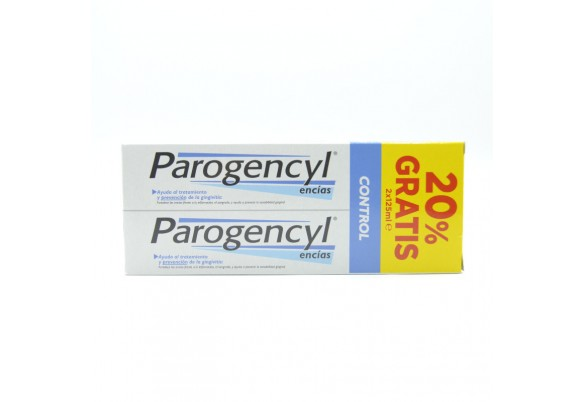 PAROGENCYL CONTROL PASTA DUPLO 2X125 ML Parafarmacia