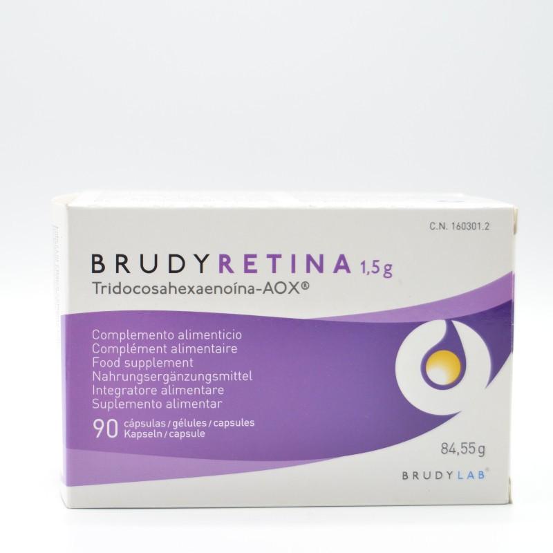 BRUDY RETINA 1,5GR. 90 CAPSULAS GELATINA Parafarmacia