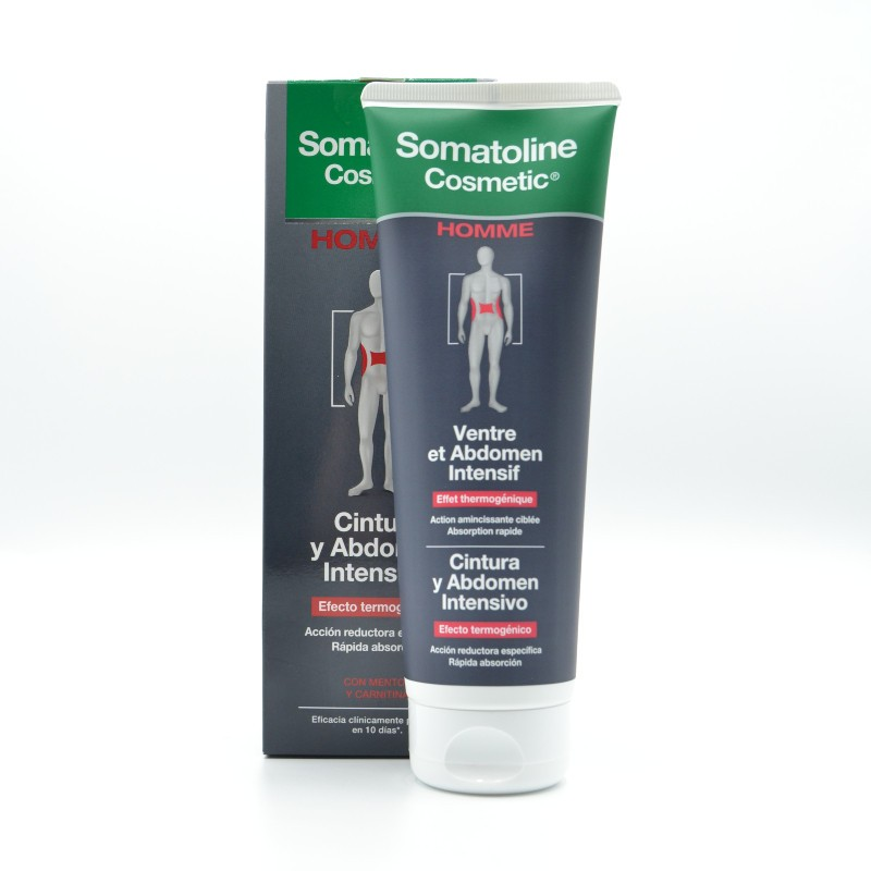 SOMATOLINE HOMBRE CINTURA Y ABDOMEN INTENSIVO 250 ML Parafarmacia