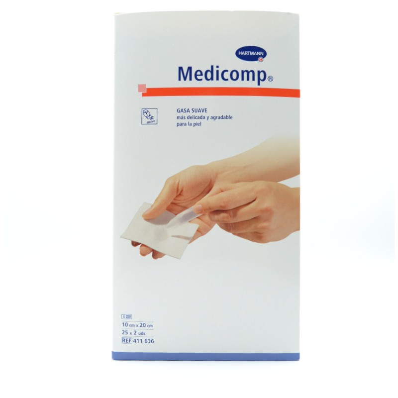 MEDICOMP 10X20 CM 50 U Parafarmacia