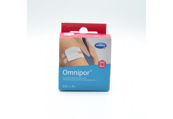 ESPARADRAPO OMNIPOR PAPEL OTC 2,5CMX5M Parafarmacia