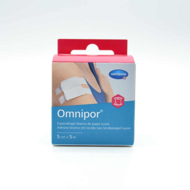 ESPARADRAPO OMNIPOR PAPEL 5 M X 5 CM Parafarmacia