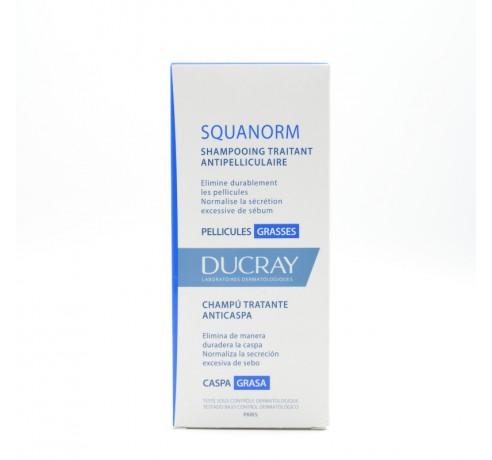 DUCRAY CHAMPU SQUANORM CASPA GRASA 200 ML Parafarmacia