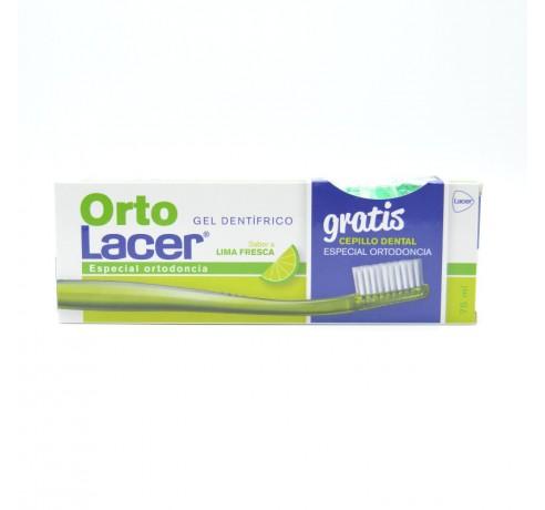 ORTOLACER GEL DENTIFRICO LIMA FRESCA 75 ML Parafarmacia