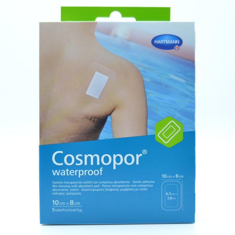 COSMOPOR WATERPROOF 10X8 CM 5 U Parafarmacia