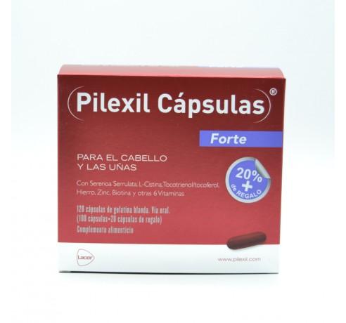 PILEXIL FORTE 120 CAPSULAS (100+20 DE REGALO) Parafarmacia
