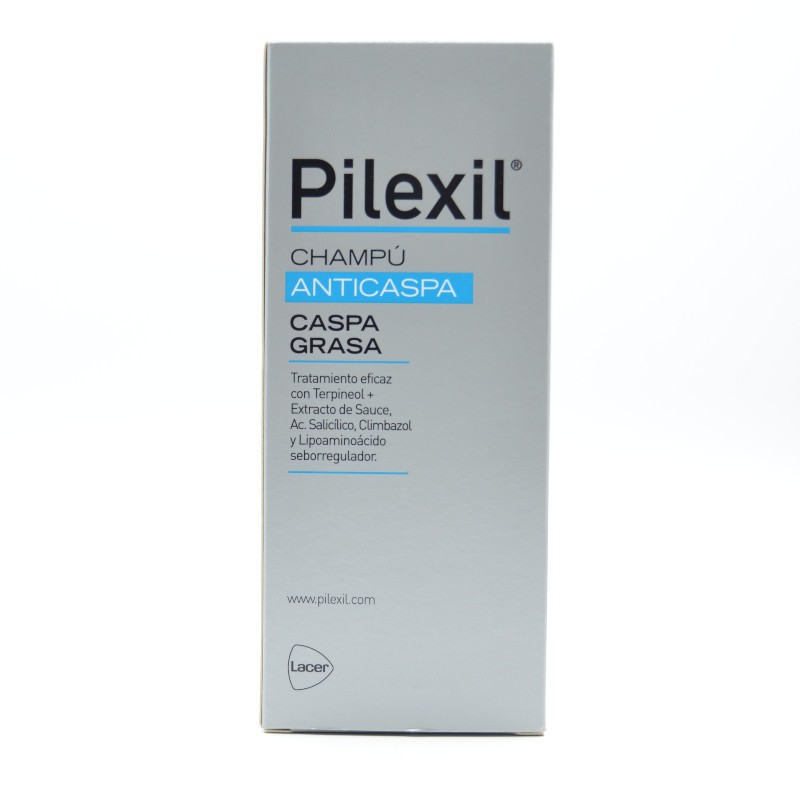 PILEXIL CHAMPU CASPA GRASA 300 ML. Parafarmacia