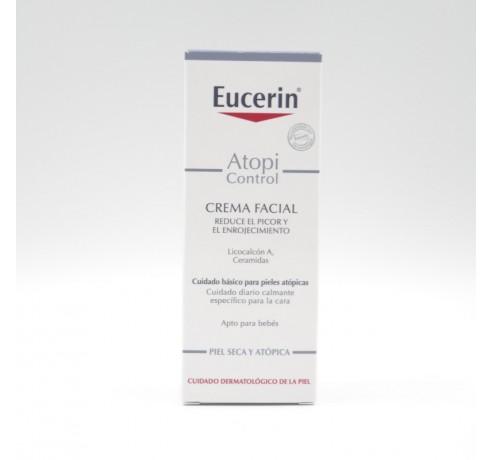 EUCERIN ATOPIC CONTROL CREMA FACIAL 50 ML Parafarmacia