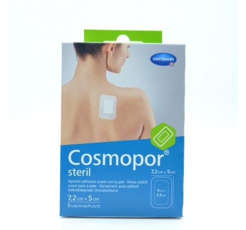 COSMOPOR STERIL 7.2X5 CM 5 APOSITOS Parafarmacia