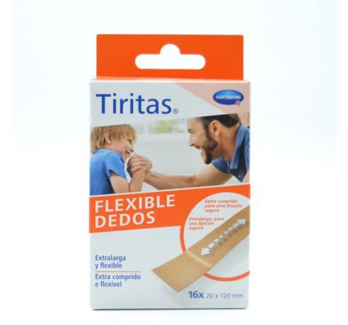 TIRITAS FLEXIBLE DEDOS EXTRA LARGA 16 U HARTMANN Parafarmacia