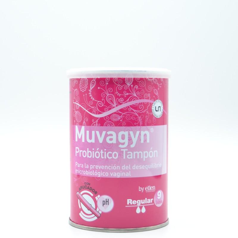 MUVAGYN PROBIOTICO TAMPON VAGINAL REGULAR C/ AP Parafarmacia