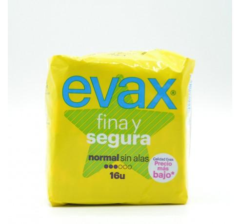 EVAX FINA Y SEGURA NORMAL 16 U Parafarmacia