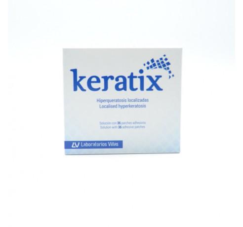 KERATIX SOLUCION+ 36 PARCHES ADHESIVOS Parafarmacia