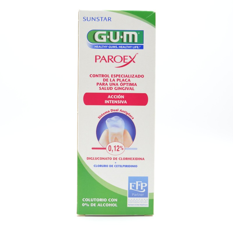 GUM PAROEX TTO COLUTORIO 500 ML Parafarmacia