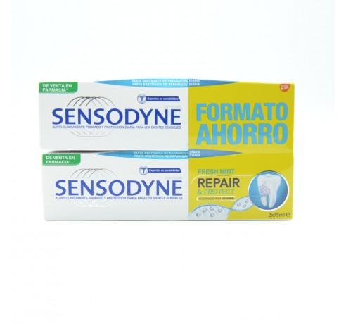 SENSODYNE REPAIR & PROTECT FRESH MINT DUPLO 75 ML Parafarmacia