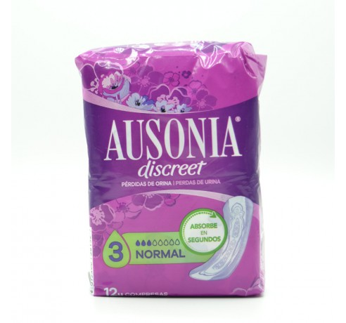 AUSONIA DISCREET NORMAL 12 U Parafarmacia