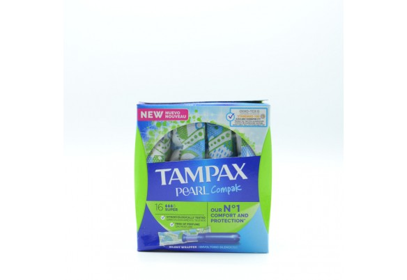 TAMPAX COMPAK PEARL SUPER 18 U Parafarmacia