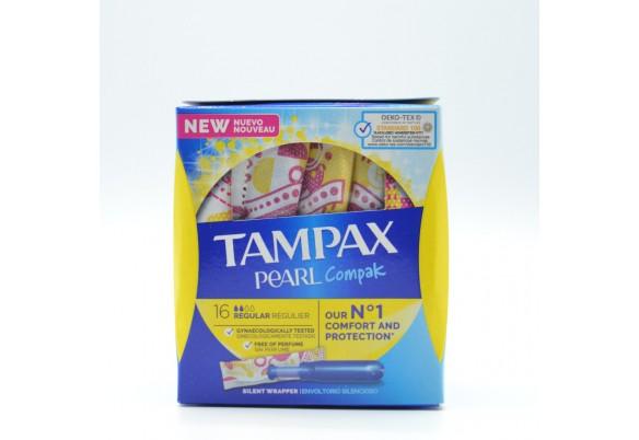 TAMPAX COMPAK PEARL REGULAR 18 U Parafarmacia