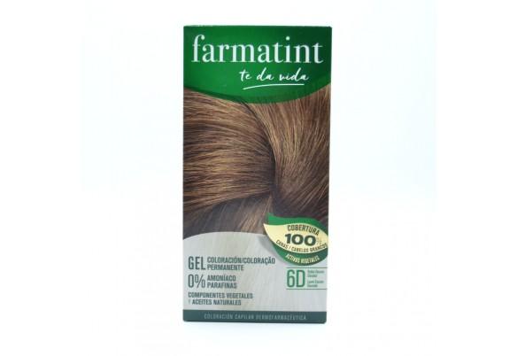 FARMATINT 6D RUBIO OSCURO DORADO 130 ML. Parafarmacia