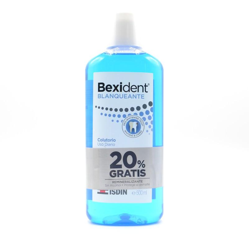 BEXIDENT BLANQUEANTE COLUTORIO 500 ML +20%GRATIS Parafarmacia