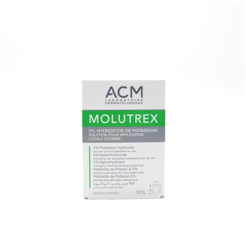 MOLUTREX SOLUCION FRASCO APLICADOR 3 ML Parafarmacia