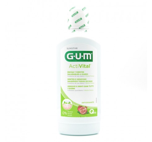 GUM ACTIVITAL COLUTORIO 500 ML Parafarmacia