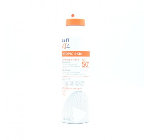 LETI AT-4 DEFENSE SPRAY SFP 50+ 200 ML Parafarmacia