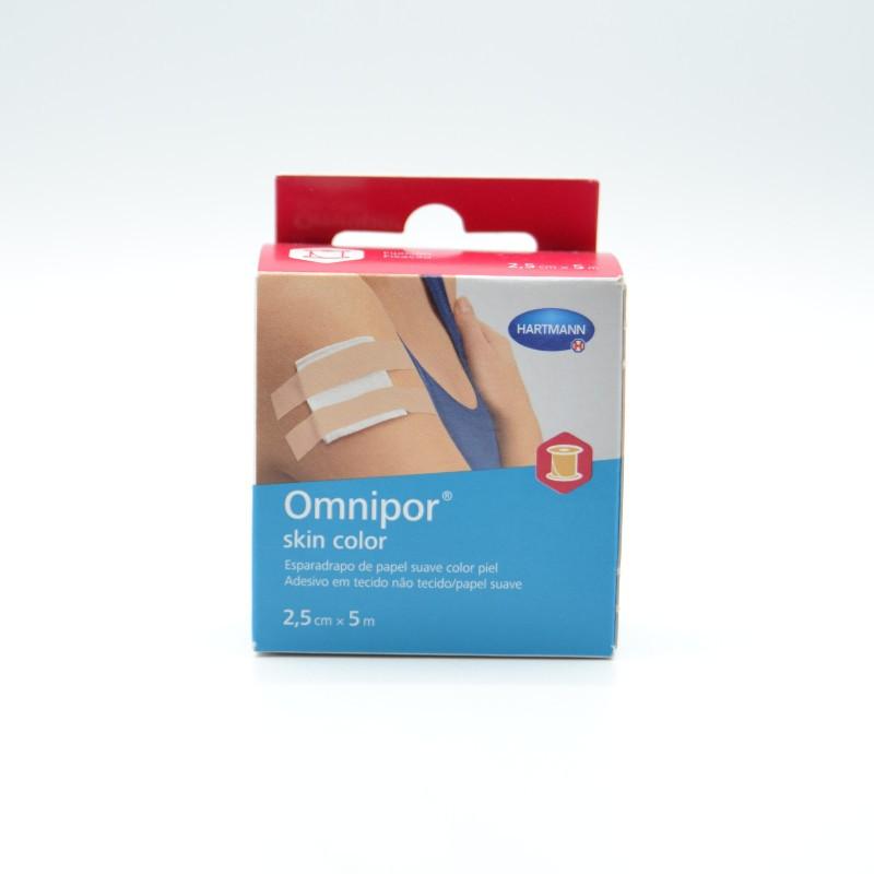 ESPARADRAPO OMNIPOR SKIN COLOR 5 M X 2,5 CM Parafarmacia