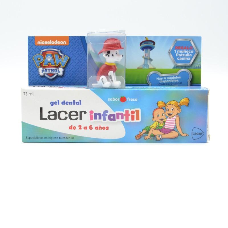 LACER INFANTIL GEL DENTAL 75 ML FRESA Parafarmacia