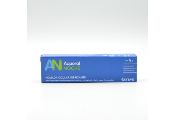 AQUORAL NOCHE SEQUEDAD OCULAR POMADA 5GR Parafarmacia